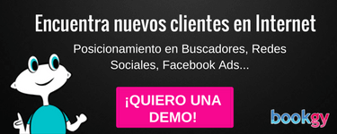 Solicita una demo en Bookgy
