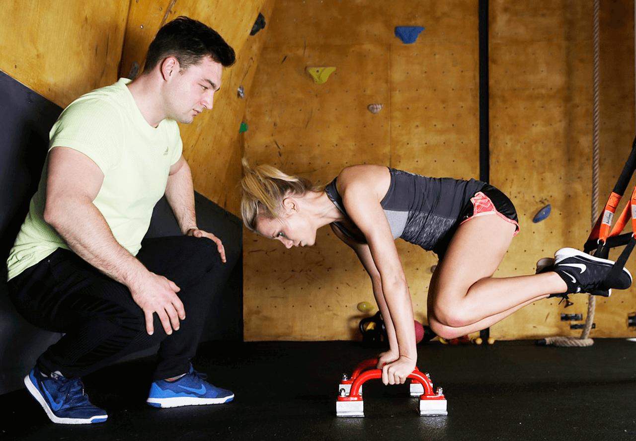 Profesor personal Fitness Entrenamiento personalizado